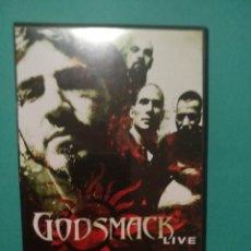 """Vídeos y DVD Musicales: GODSMACK """"LIVE"""" (DVD, 2001) NU METAL, HEAVY METAL, ALTERNATIVE METAL, METAL METAL METAL. Lote 219030412"""