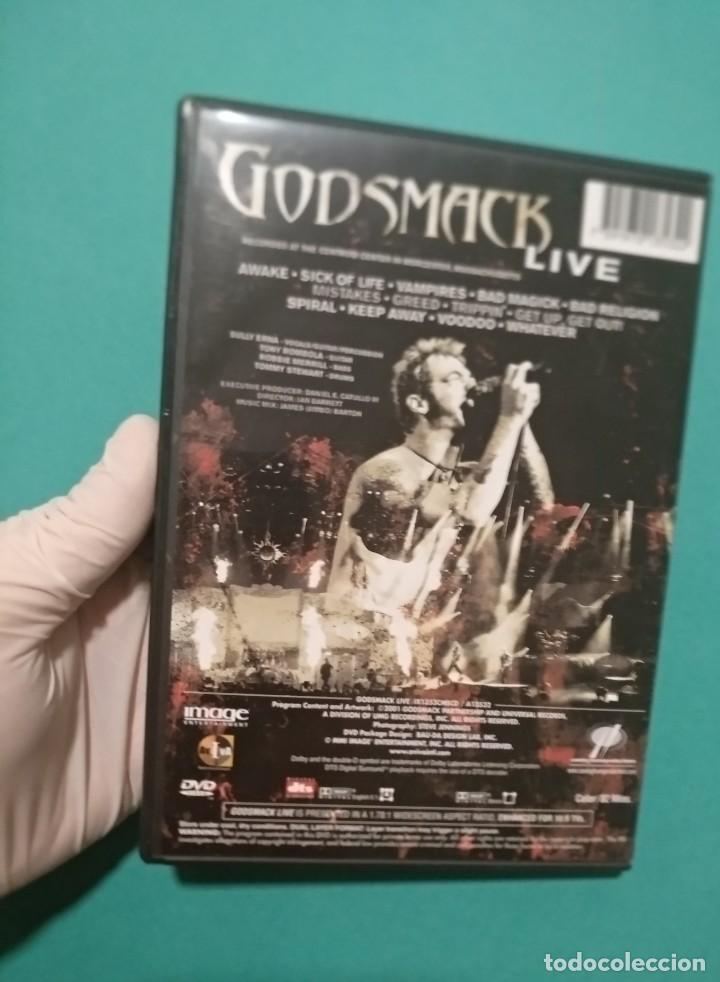 """Vídeos y DVD Musicales: GODSMACK """"LIVE"""" (DVD, 2001) NU METAL, HEAVY METAL, ALTERNATIVE METAL, METAL METAL METAL - Foto 2 - 219030412"""