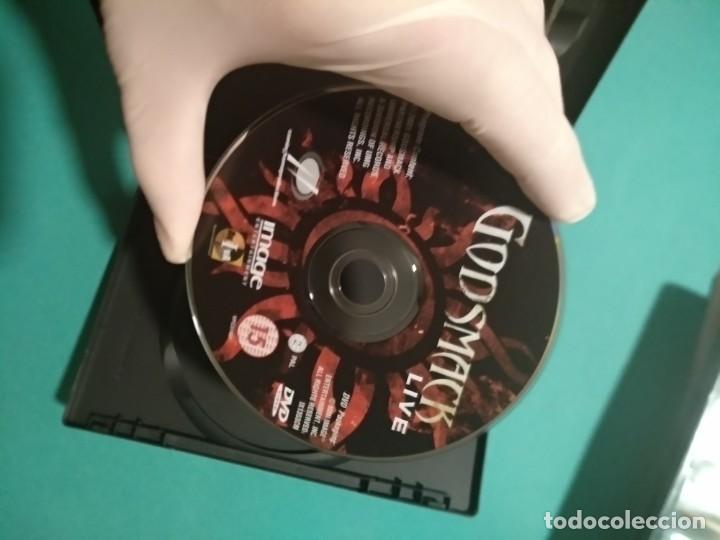 """Vídeos y DVD Musicales: GODSMACK """"LIVE"""" (DVD, 2001) NU METAL, HEAVY METAL, ALTERNATIVE METAL, METAL METAL METAL - Foto 3 - 219030412"""