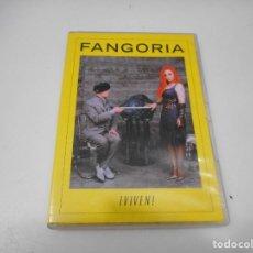 Vídeos y DVD Musicales: FANGORIA ¡VIVEN! (CONCIERTO) Q3020T. Lote 219521042