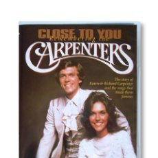 Vídeos y DVD Musicales: DVD ''CLOSE TO YOU - REMEMBERING THE CARPENTERS''. Lote 219832068