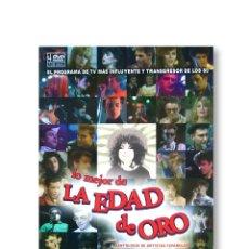 Vídeos y DVD Musicales: ''LO MEJOR DE LA EDAD DE ORO'' - ESTUCHE 4 DVD. Lote 219832243