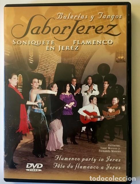 SABOR JEREZ - SONIQUETE FLAMENCO EN JEREZ - DVD (Música - Videos y DVD Musicales)