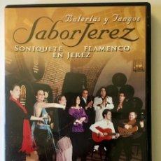 Vídeos y DVD Musicales: SABOR JEREZ - SONIQUETE FLAMENCO EN JEREZ - DVD. Lote 220295766