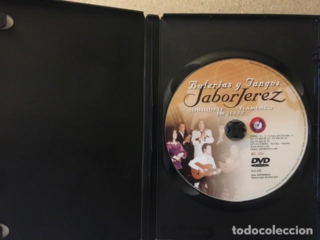 Vídeos y DVD Musicales: SABOR JEREZ - SONIQUETE FLAMENCO EN JEREZ - DVD - Foto 3 - 220295766