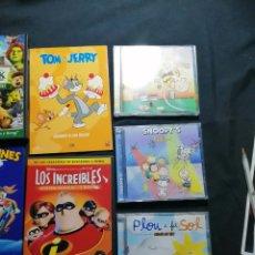 Vídeos y DVD Musicales: LOTE INFANTIL DVD Y CD. Lote 221171063