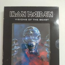 Vídeos y DVD Musicales: DVD METAL/IRON MAIDEN/VISIONS OF THE BEAST-THE COMPLETE VIDEO-HISTORY/DOBLE DVD.. Lote 221285660