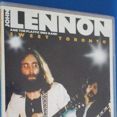 Vídeos y DVD Musicales: DVD / JOHN LENNON AND THE PLASTIC ONO BAND, SWEET TORONTO, DVD INGLÉS, COMO NUEVO, CAJA NORMAL. Lote 221539505