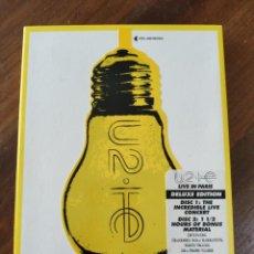 Vídeos y DVD Musicales: U2 INNOCENCE +EXPERIENCE LIVE IN PARIS.. Lote 221749661