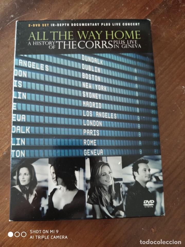 ALL THE WAY HOME A HISTORY OF THE CORRS PLUS LIVE IN GENEVA. (Música - Videos y DVD Musicales)