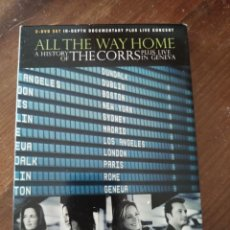 Vídeos y DVD Musicales: ALL THE WAY HOME A HISTORY OF THE CORRS PLUS LIVE IN GENEVA.. Lote 221751203