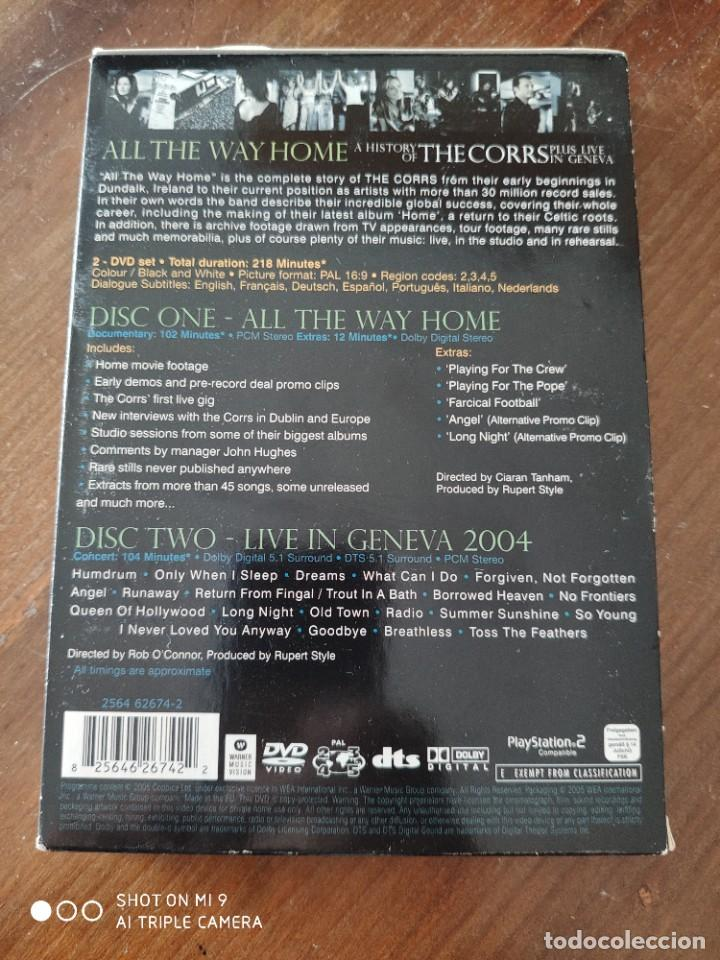 Vídeos y DVD Musicales: ALL THE WAY HOME A HISTORY OF THE CORRS PLUS LIVE IN GENEVA. - Foto 3 - 221751203