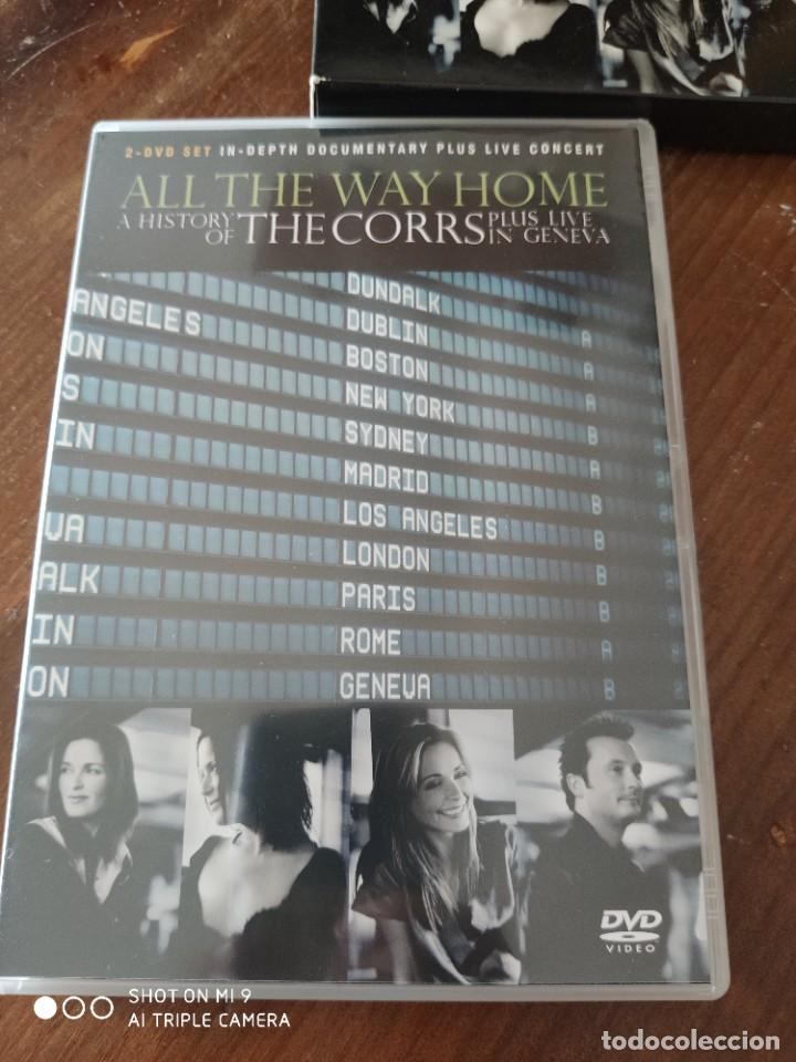 Vídeos y DVD Musicales: ALL THE WAY HOME A HISTORY OF THE CORRS PLUS LIVE IN GENEVA. - Foto 5 - 221751203