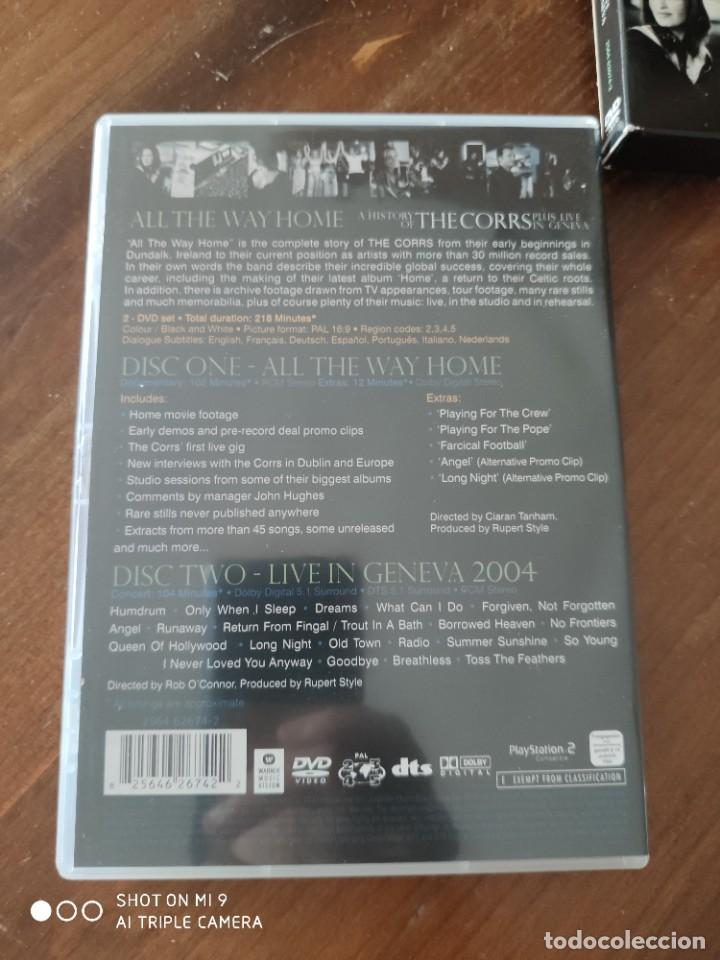 Vídeos y DVD Musicales: ALL THE WAY HOME A HISTORY OF THE CORRS PLUS LIVE IN GENEVA. - Foto 6 - 221751203