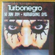 Vídeos y DVD Musicales: TURBONEGRO- 06 JUNI 2004. LIVE AT NURBURGRING. DVD NUEVO ! PRECINTADO !. Lote 222008725
