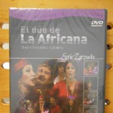 Vídeos y DVD Musicales: EL DUO DE LA AFRICANA. DVD DE LA ZARZUELA DE MANUEL FERNANDEZ CABALLERO. ORQUESTA SINFONICA DE MADRI. Lote 222047741