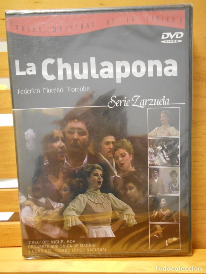 LA CHULAPONA. DVD DE LA ZARZUELA DE FEDERICO MORENO TORROBA. ORQUESTA SNFONICA DE MADRID Y CORO DEL (Música - Videos y DVD Musicales)
