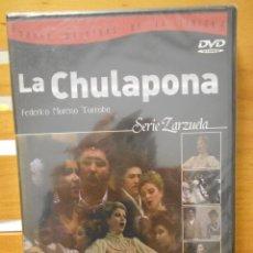 Vídeos y DVD Musicales: LA CHULAPONA. DVD DE LA ZARZUELA DE FEDERICO MORENO TORROBA. ORQUESTA SNFONICA DE MADRID Y CORO DEL. Lote 222048103