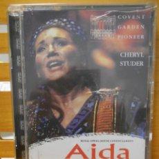 Vídeos y DVD Musicales: AIDA. GIUSEPPE VERDI. DVD DE ROYAL OPERA HOUSE COVENT GARDEN. PIONEER. OPERA EN 4 ACTOS. 2 DVD'S. CO. Lote 222051055
