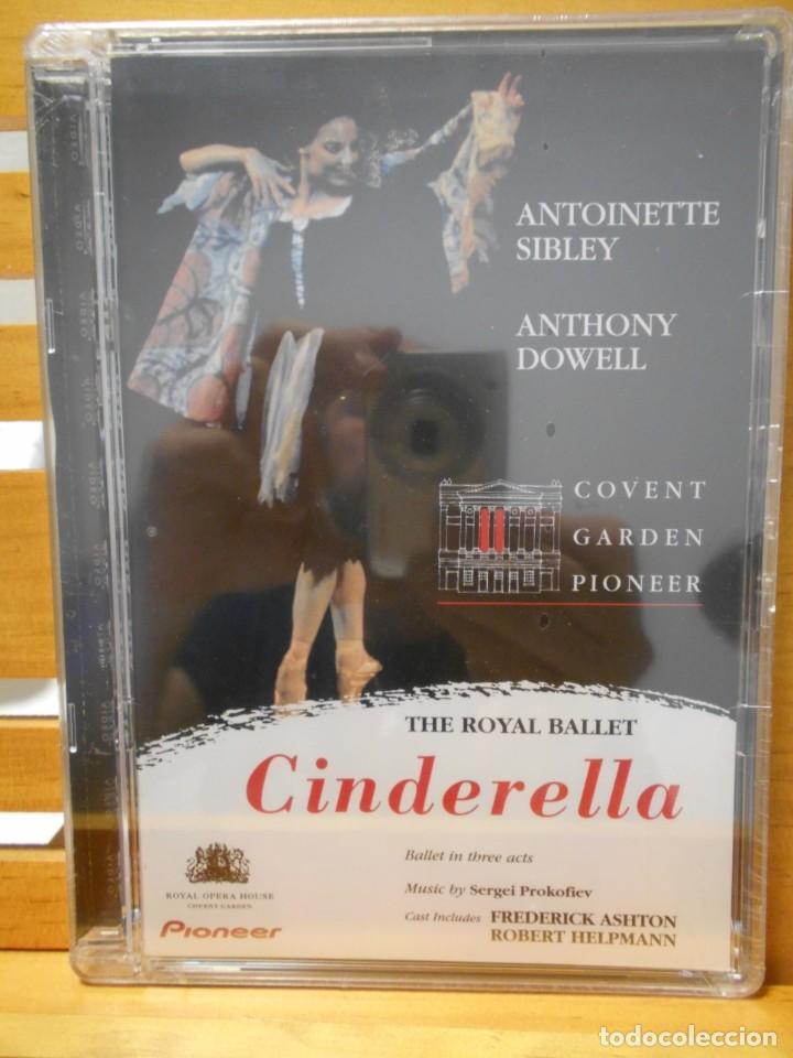 CINDERELLA. THE ROYAL BALLET. DVD DEL BALLET DE SERGEI PROKOFIEV. COVENT GARDEN PIONEER. NUEVO A EST (Música - Videos y DVD Musicales)