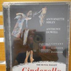 Vídeos y DVD Musicales: CINDERELLA. THE ROYAL BALLET. DVD DEL BALLET DE SERGEI PROKOFIEV. COVENT GARDEN PIONEER. NUEVO A EST. Lote 222051497