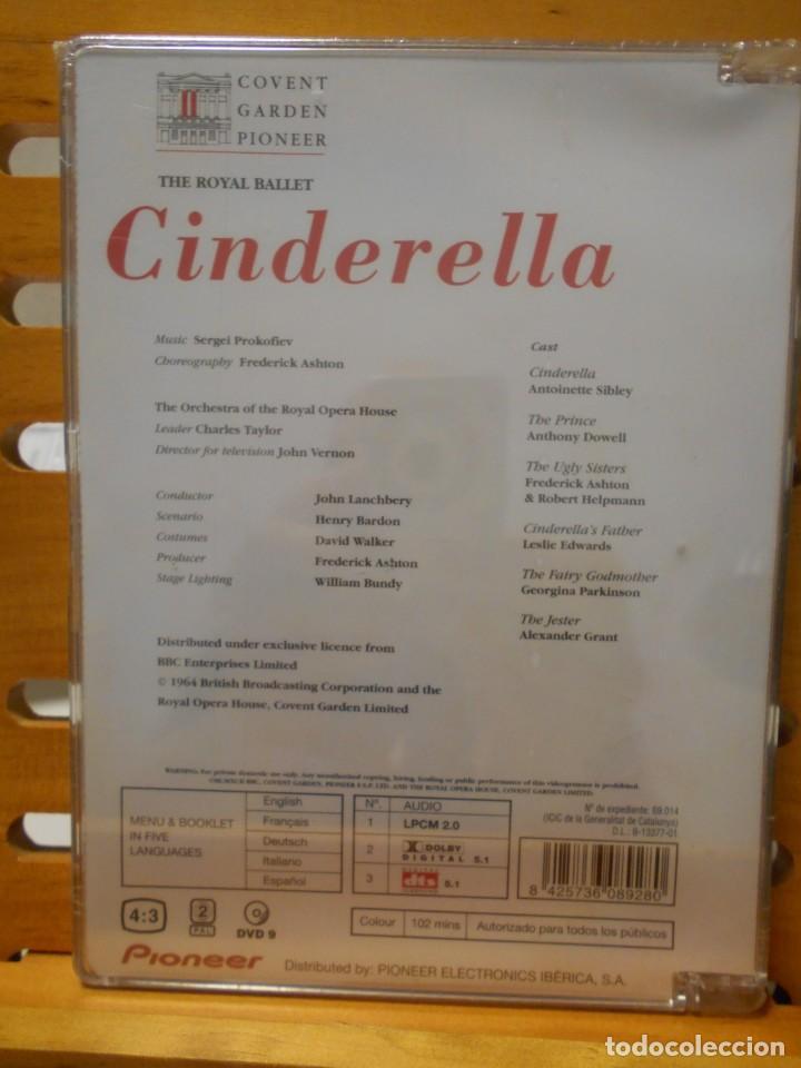 Vídeos y DVD Musicales: CINDERELLA. THE ROYAL BALLET. DVD DEL BALLET DE SERGEI PROKOFIEV. COVENT GARDEN PIONEER. NUEVO A EST - Foto 2 - 222051497