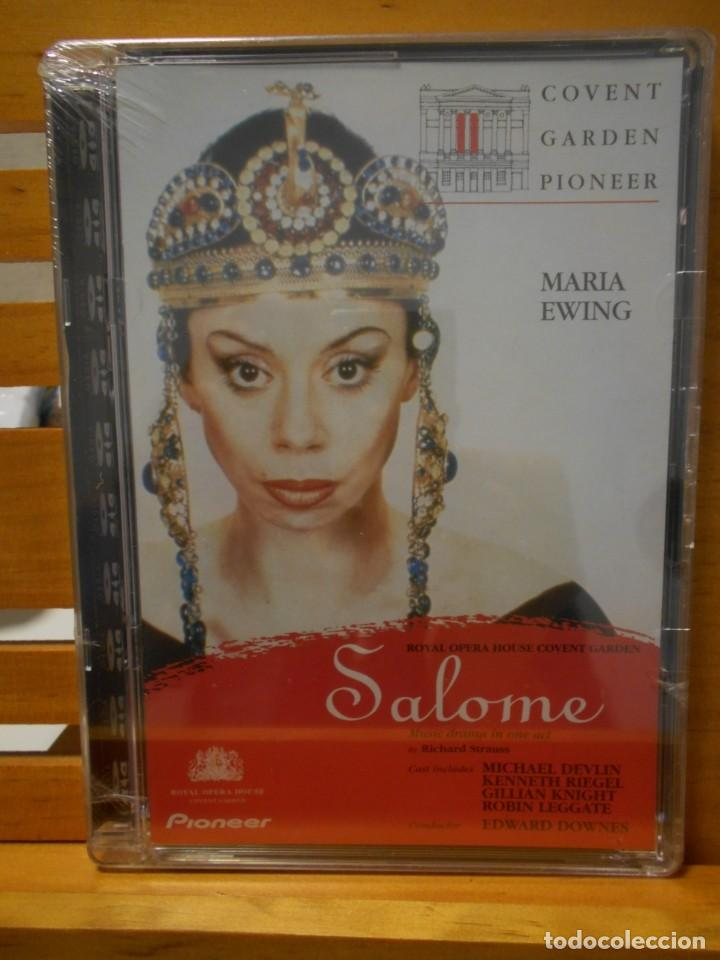 SALOME. DVD DE LA OPERA DE RICHARD STRAUSS. COVENT GARDEN PIONEER. ROYAL OPERA COVENT GARDEN. NUEVO (Música - Videos y DVD Musicales)