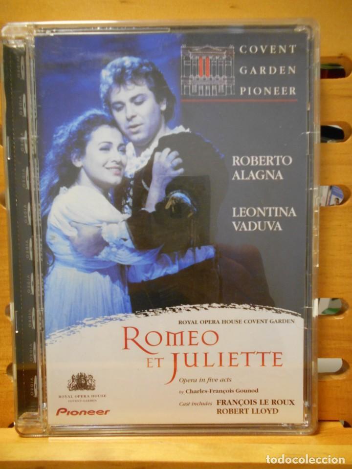 ROMEO ET JULIETTE. ROMEO Y JULIETA. DVD DE LA OPERA DE CHARLES-FRANÇOIS GOUNOD. ROYAL OPERA HOUSE CO (Música - Videos y DVD Musicales)