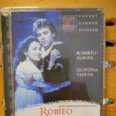 Vídeos y DVD Musicales: ROMEO ET JULIETTE. ROMEO Y JULIETA. DVD DE LA OPERA DE CHARLES-FRANÇOIS GOUNOD. ROYAL OPERA HOUSE CO. Lote 222053992
