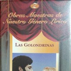 Vídeos y DVD Musicales: LAS GOLONDRINAS - JUAN DE ORDUÑA - VHS - ZARZUELA. Lote 222064617