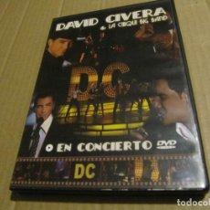 Vídeos y DVD Musicales: DAVID CIVERA & LA CHIQUI BIG BAND – EN CONCIERTO DVD DESCATALOGADO. Lote 222075303
