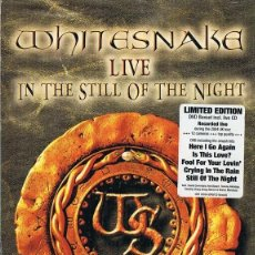 Vídeos y DVD Musicales: WHITESNAKE LIVE IN THE STILL OF THE NIGHT (CD + DVD). Lote 222928507