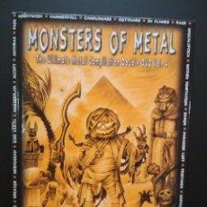 Vídeos y DVD Musicales: MONSTERS OF METAL, VOLUMEN 4, 2 DVD, NUCLEAR BLAST PEPETO. Lote 223042776