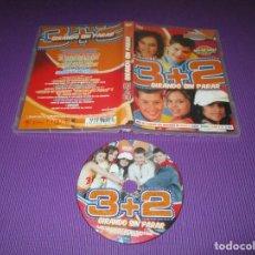 Vídeos y DVD Musicales: 3 + 2 GIRANDO SIN PARAR - DVD - CONTIENE SUS MEJORES VIDEOCLIPS - INCLUYE KARAOKE - 3+2. Lote 225176368