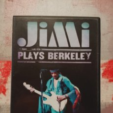 Video e DVD Musicali: DVD JIMI PLAYS BERKELEY. Lote 225250665