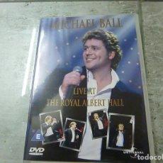 Vídeos y DVD Musicales: MICHAEL BALL - LIVE AT THE ROYAL ALBERT HALL - DVD -N 2. Lote 225338882