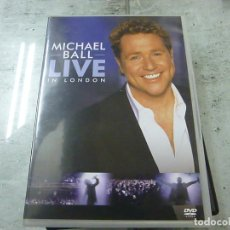 Vídeos y DVD Musicales: MICHAEL BALL - LIVE IN LONDON - DVD -N 2. Lote 225339030