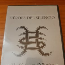 Vídeos e DVD Musicais: 2DVDS HÉROES DEL SILENCIO. THE PLATINUM COLLECTION. Lote 225385253