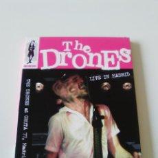 Vídeos y DVD Musicales: THE DRONES LIVE IN MADRID ( 2006 MUNSTER ) GRUTA 77 120 MINUTOS. Lote 225492393