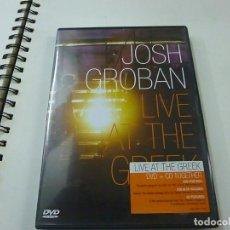 Vídeos y DVD Musicales: JOSH GROBAN - LIVE AT THE GREEK - CD +DVD - N 2. Lote 225503796