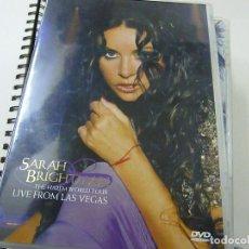 Vídeos y DVD Musicales: SARAH BRIGHTMAN. CONCIERTO EN LAS VEGAS 2004. 2 DVD.- N 2. Lote 225504220
