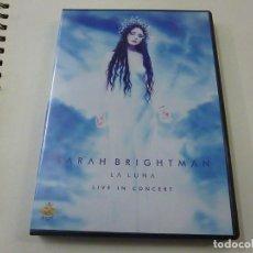 Vídeos y DVD Musicales: SARAH BRIGHTMAN- LIVE IN CONCERT - DVD -N 2. Lote 225504992
