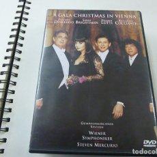 Vídeos y DVD Musicales: A GALA CHRISTMAS IN VIENNA- DVD-PLACIDO DOMINGO-DARAH BRIGHTMAN-HELMUT LOTTI -N 2. Lote 225506932