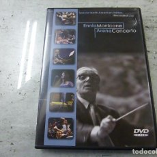 Vídeos y DVD Musicales: ENNIO MORRICONE - ARENA CONCERTO - DVD - N 2. Lote 225559400