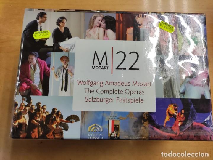 MOZART - COMPLETE OPERAS - BOX DVD (Música - Videos y DVD Musicales)