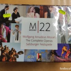 Vídeos y DVD Musicales: MOZART - COMPLETE OPERAS - BOX DVD. Lote 225750220