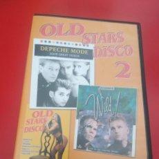 Vídeos y DVD Musicales: OLD STARS DISCO 2 - DVD VIDEO. Lote 225977188