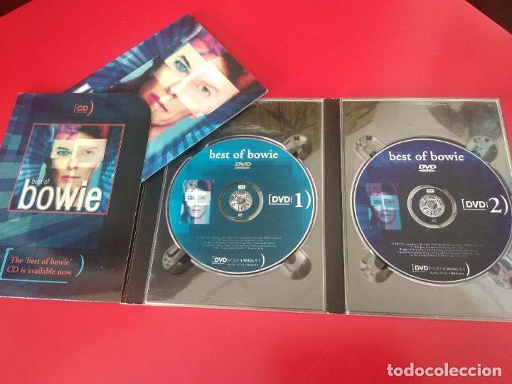 DAVID BOWIE BEST OF BOWIE 2XDVD+ LIBRO ESTUCHE (Música - Videos y DVD Musicales)