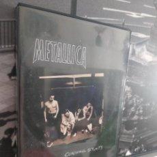 Vídeos y DVD Musicales: DVD DOBLE/METALLICA/CUNNING STUNTS.. Lote 226000860