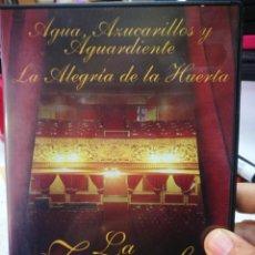 Vidéos y DVD Musicaux: DVD LA ZARZUELA AGUA AZUCARILLOS Y AGUARDIENTE LA ALEGRÍA DE LA HUERTA. Lote 226992430